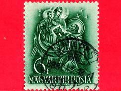UNGHERIA - Usato - 1938 - 900° Anniversario Della Morte Di Santo Stefano - Offre Corona Alla Madonna - 6