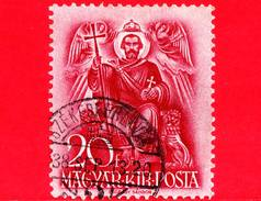 UNGHERIA - Usato - 1938 - 900° Anniversario Della Morte Di Santo Stefano - S. Stefano In Trono - 20