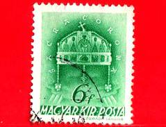 UNGHERIA - Usato - 1939 - Chiesa D' Ungheria - Corona Di Santo Stefano - Sacra Corona - 6