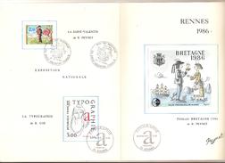 Bloc Cnep Bretagne 1986 Sur Son Document
