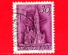 UNGHERIA - Usato - 1939 - Chiesa D'Ungheria - Coronation Church, Budapest - 30