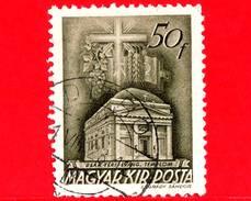 UNGHERIA - Usato - 1939 - Chiesa D'Ungheria - Evangelical Church, Budapest - 50