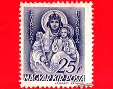 UNGHERIA - Usato - 1939 - Chiesa D'Ungheria - Vergine Maria, Patrona D'Ungheria - 25