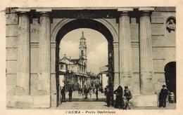 72Bv   Italie Crema Porta Ombriano - Italie