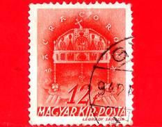 UNGHERIA - Usato - 1941 - Chiesa D' Ungheria - Corona Di Santo Stefano - Sacra Corona - 12