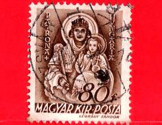 UNGHERIA - Usato - 1941 - Chiesa D'Ungheria - Vergine Maria, Patrona D'Ungheria - 80
