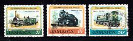 Train, Eisenbahn, Locomotive, Railway: Jamaica 1970 Mi Nr 326 - 328