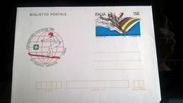 ITALIA 1981 BIGLIETTO POSTALE CAMPIONATO MONDIALE SCI NAUTICO - 6. 1946-.. Republic