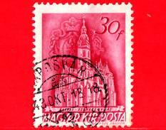 UNGHERIA - Usato - 1943 - Chiesa D'ungheria - Cattedrale Di Cassa - 30