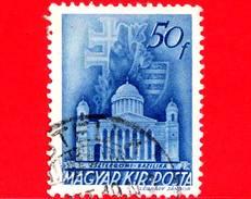 UNGHERIA - Usato - 1943 - Chiesa D'Ungheria - Cattedrale Di Esztergom - 50