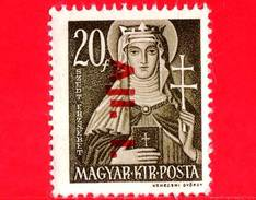 UNGHERIA - Nuovo - 1943 - Liberazione Dell'Ungheria - Santa Elisabetta (1207-1231) - Sovrastampato 'Ajl.1.' - 20