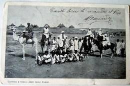 CPA-KP-PC- Erytree - COLONIA ITALIANA --CANTIBAI E SCECH AMER DEGLI HABAB - Erythrée