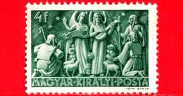 UNGHERIA - Nuovo - 1943 - Natale - Christmas - Angeli E Pastori - 4