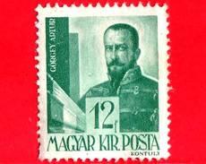 UNGHERIA - Nuovo - 1943 - Personaggi Della Storia Ungherese - Artúr Görgey (1818-1916), Generale -12