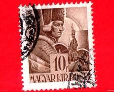 UNGHERIA - Usato - 1943 - Personaggi Della Storia Ungherese - Andras Hadik (1710-1790), Maresciallo -10