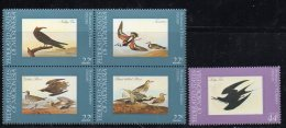 Micronesia 28a + C15 Birds Block + Single MNH