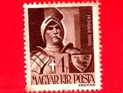 UNGHERIA - Nuovo - 1943 - Personaggi Della Storia Ungherese - Janos Hunyadi (1385-1456), Generale - 4