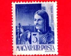UNGHERIA - Nuovo - 1943 - Personaggi Della Storia Ungherese - Miklos Toldi, Eroe, 14 Sec. - 3