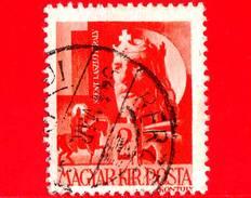 UNGHERIA - Usato - 1943 - Personaggi Della Storia Ungherese - San Laszlo I (1040-1095), Re D'Ungheria - 2