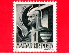 UNGHERIA - Nuovo - 1943 - Personaggi Della Storia Ungherese - Ruling Prince Arpad (c. 850-907) - 1