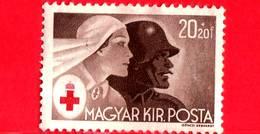 UNGHERIA - Nuovo - 1944 - Croce Rossa - Infermiera E Soldato - 20+20