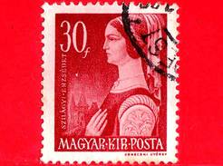 UNGHERIA - Usato - 1944 - Donne Famose Della Storia Ungherese - Erzsébet Szilagyi - 30
