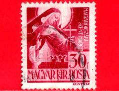 UNGHERIA - Usato - 1944 - Personaggi Della Storia Ungherese - Santa Margherita (1242-1270) - 30