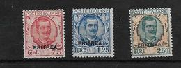 Eritrea Serie Completa Francobolli 1926 Nuova Colonie Italiane (s.24 Sassone 3 Val.vedi Retro) - Eritrea