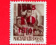UNGHERIA - Nuovo - 1945 - Liberazione Dell'Ungheria - Conte Andras Hadik (1710-1790) - Sovrastampato 10 Su 10
