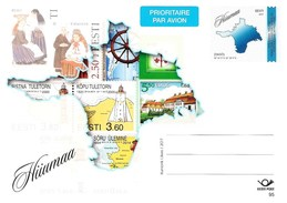 Estonia Estland Estonie 2017 Prepaid Postcard (No95) Hiiumaa Stamps (unaddressed)