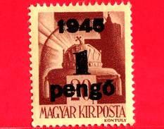 UNGHERIA - Nuovo - 1945 - Liberazione Dell'Ungheria - Corona Di S. Stefano - Sovrastampato 1 Su 20