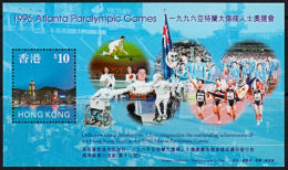 A0958 HONG KONG 1997, SG MS898 Commemorating Hong Kong's Success In Paralympic Games,  MNH - Neufs