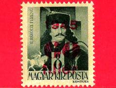 UNGHERIA - Nuovo - 1945 - Liberazione Dell'Ungheria - Ferenc II Rakoczi (1676-1735) - Sovrastampato 60 Su 8