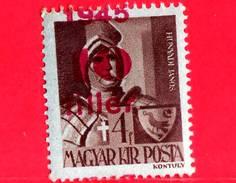 UNGHERIA - Nuovo - 1945 - Liberazione Dell'Ungheria - Janos Hunyadi (1385-1456) - Sovrastampato 10 Su 4