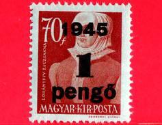 UNGHERIA - Nuovo - 1945 - Liberazione Dell'Ungheria - Zsuzsanna Lorantffy (1600-1660) - Sovrastampato 1 Su 70