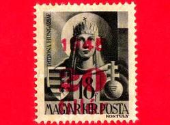 UNGHERIA - Nuovo - 1945 - Vergine Maria, Patrona D'Ungheria - Sovrastampato 20 Su 18