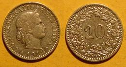 Schweiz, 20 Rappen 1912 - Suisse