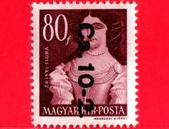UNGHERIA - Nuovo - 1946 - Liberazione Dell'Ungheria - Ilona Zrínyi (1643-1703) - Sovrastampato 'Cs.10-2.' - 80
