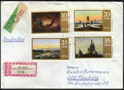 Germany DDR Kyritz / Art / Paintings / C. D. Friedrich