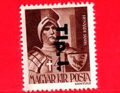 UNGHERIA - Nuovo - 1946 - Liberazione Dell'Ungheria - Janos Hunyadi (1385-1456) - Sovrastampato 'Tlp. 1.' - 4
