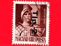 UNGHERIA - Usato - 1946 - Liberazione Dell'Ungheria - Janos Hunyadi (1385-1456) - Sovrastampato 'Tlp. 2.' - 4