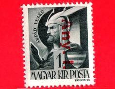 UNGHERIA - Nuovo - 1946 - Liberazione Dell'Ungheria - Ruling Prince Arpad (c. 850-907) - Sovrastampato 'Any. 1.' - 1