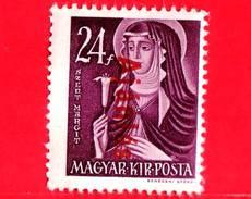 UNGHERIA - Nuovo - 1946 - Liberazione Dell'Ungheria - Vergine Maria, Patrona - Sovrastampato 'Ajanlas' - 24