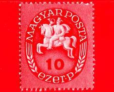 UNGHERIA - Nuovo - 1946 - Postino A Cavallo - Postrider - 10