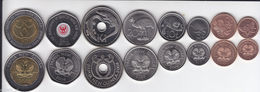 PAPUA NEW GUINEA Set Of 8 Coins Different Years - Papoea-Nieuw-Guinea