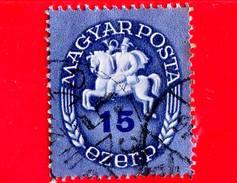 UNGHERIA - Usato - 1946 - Postino A Cavallo - Postrider - 15