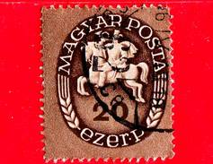 UNGHERIA - Usato - 1946 - Postino A Cavallo - Postrider - 20