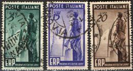 ITALIA - 1949 - PROGRAMMA DI RICOSTRUZIONE EUROPEA - ERP - USATI