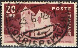 ITALIA - 1949 - ELEZIONI AMMINISTRATIVE A TRIESTE - USATO