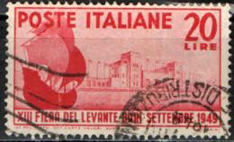 ITALIA - 1949 - 13^ FIERA DEL LEVANTE DI BARI - USATO